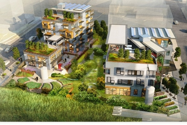 Interesting eco friendly buildings in canada for Eco green builders